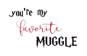 Harry Potter Muggle card