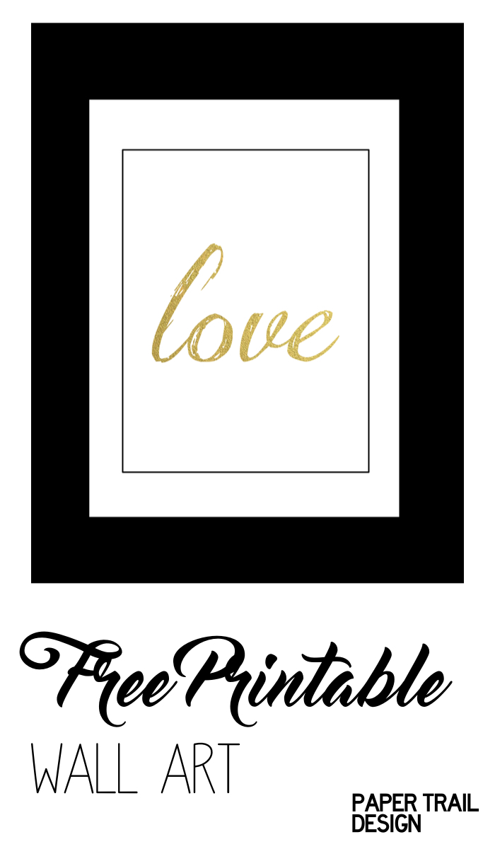 "FREE Printable ""Love One Another"" Print & Matching Banner ..."