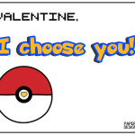 Free Printable Pokémon Valentine Cards. These DIY Pokemon Valentine Cards are easy to make for your kids valentine exchange. An easy no candy valentine.