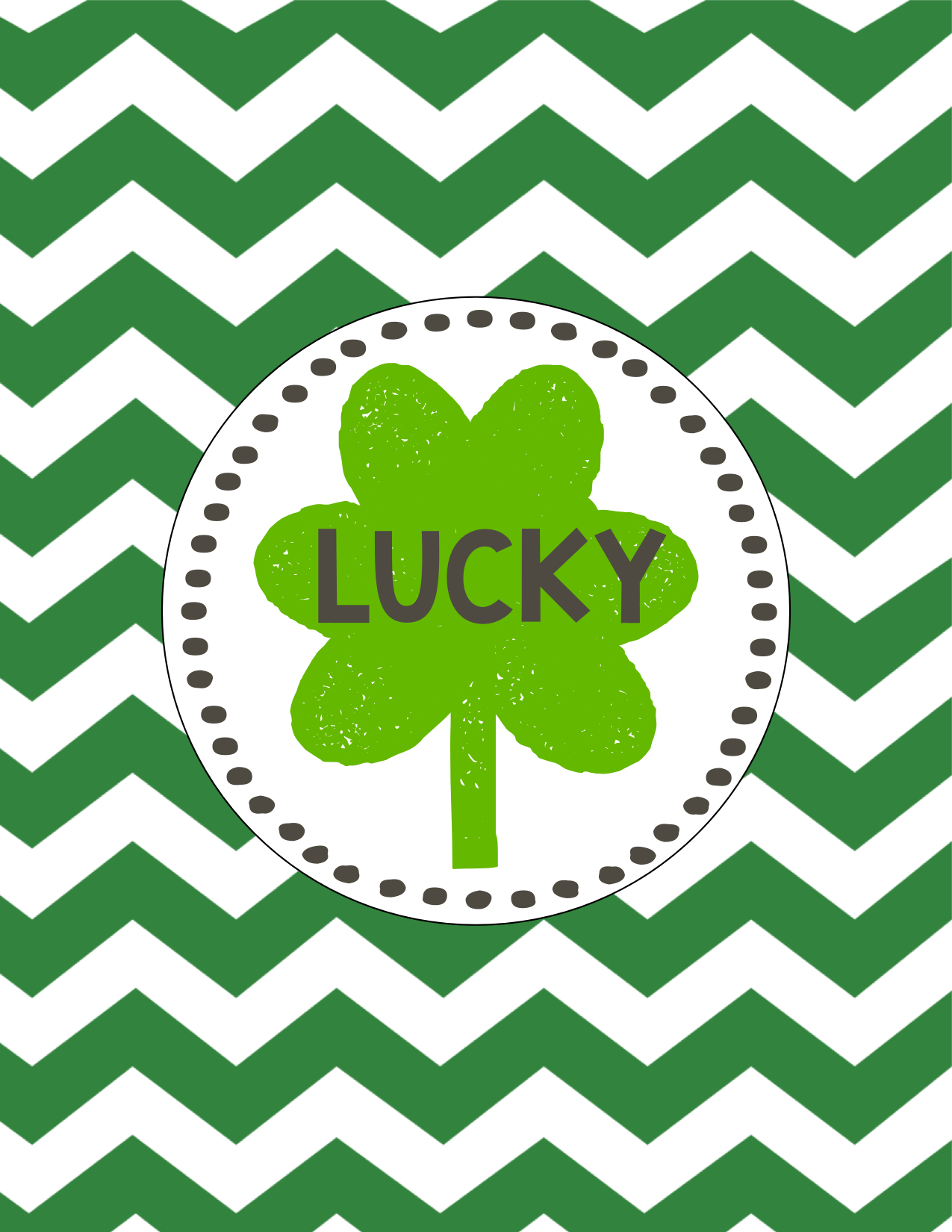 Decorate House Saint Patrick S Day Lucky Free Printables Amp Blessed Bonus