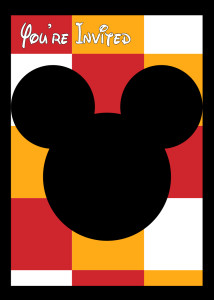 Free Printable Mickey Mouse Invitation and how to customize it. Personalize this Mickey Mouse graphic for your birthday party with our simple tutorial.
