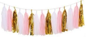 Tissue-paper-tassles-garland
