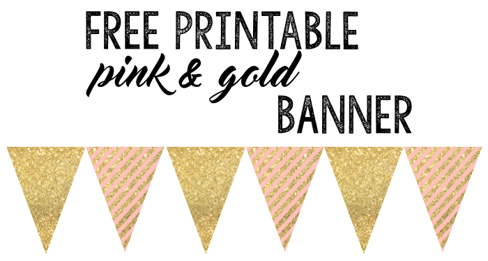 free printable birthday banner ideas paper trail design