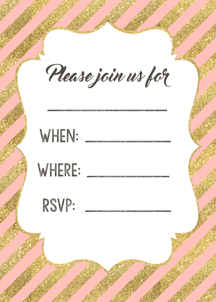 picture about Printable Invitations named Crimson and Gold Invites Cost-free Printable - Paper Path Style