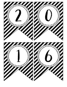 Print the Gradutaion Banner Free Printables . Free Printable banner flags for a black and white gradutaion party. 2016, 2017, 2018, 2019, 2020, & grad.{ 2016 Graduation Banner } here