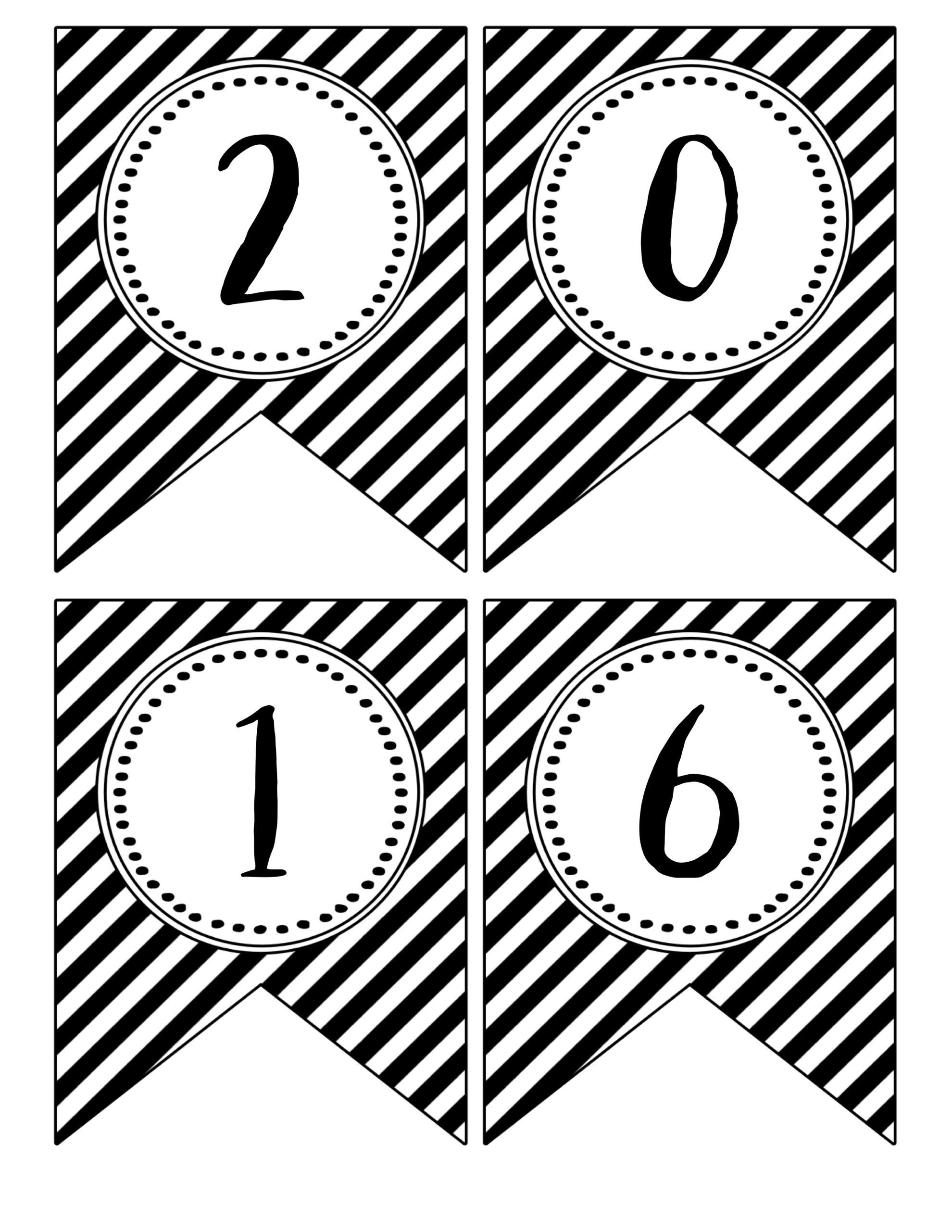 graduation banner free printables paper trail design. Black Bedroom Furniture Sets. Home Design Ideas