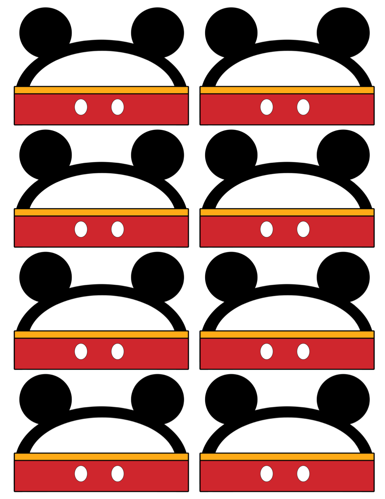 Similiar Mickey Mouse Tags Template Keywords Luggage Tag Head Birthday Party Archives Paper Trail Design Instant Download Food Labels