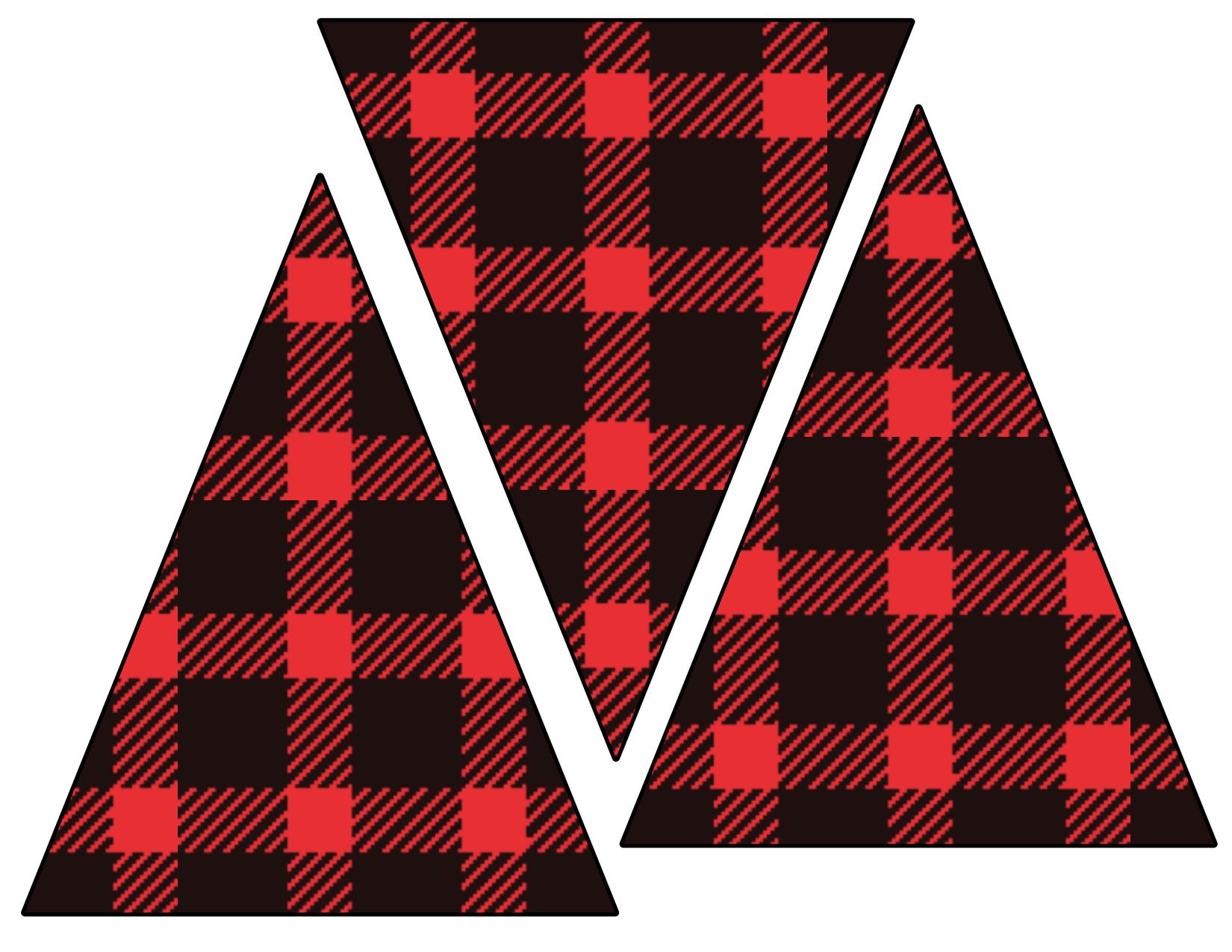 Lumberjack Banner Free Printable - Paper Trail Design