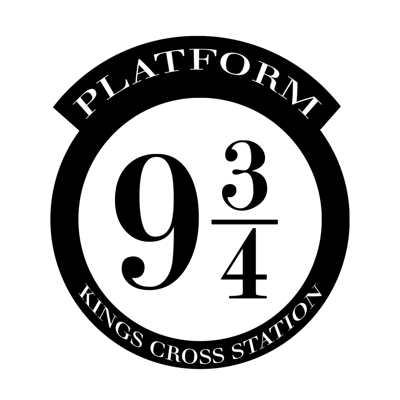 picture regarding Platform 9 3 4 Sign Printable identified as Do it yourself Harry Potter System 9 3/4 - Paper Path Style and design