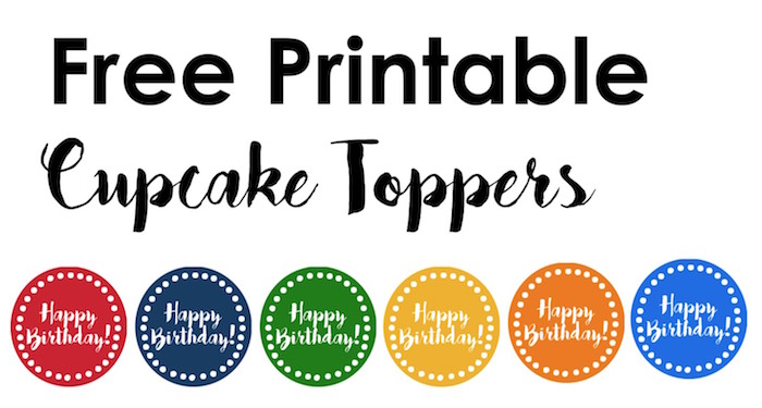 Colorful Party Free Printables Paper Trail Design