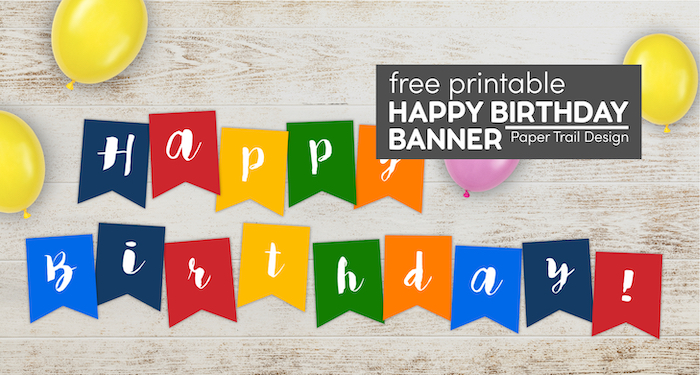 colorful happy birthday banner with text overlay- free printable happy birthday banner