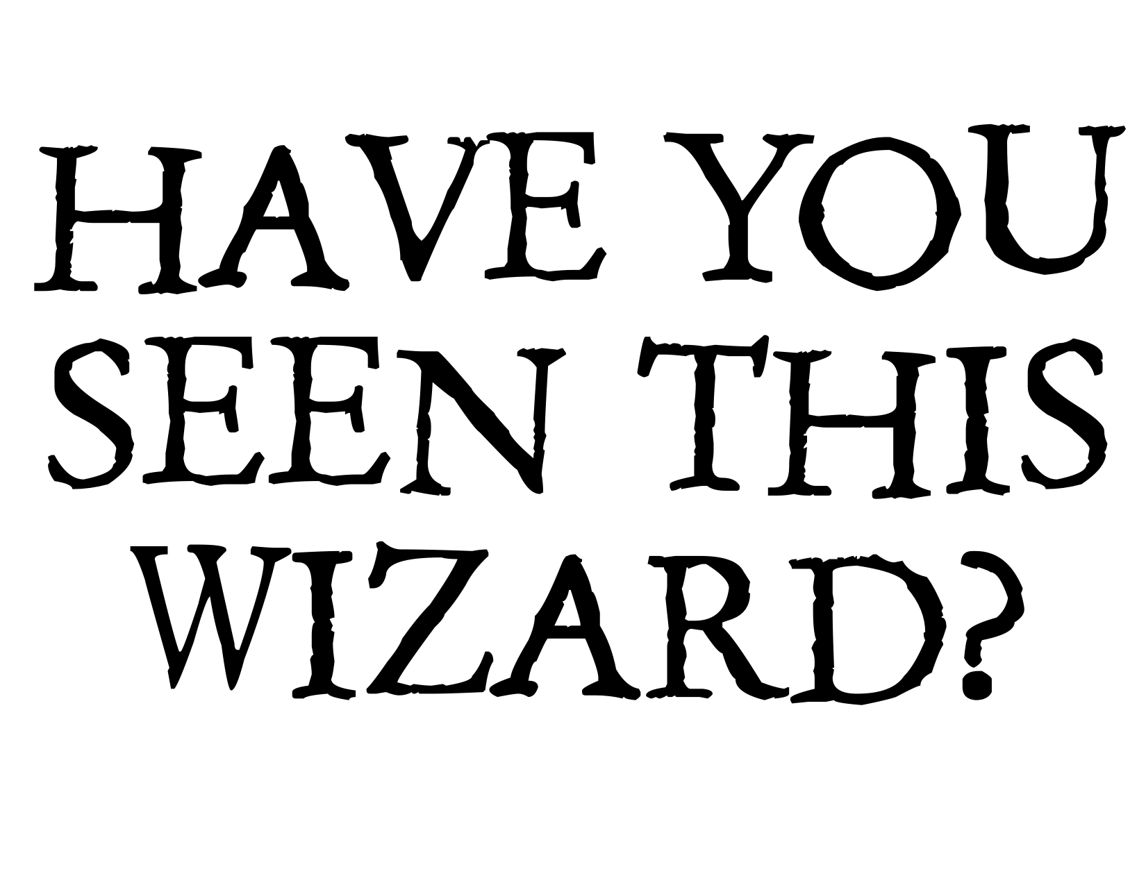 picture about Have You Seen This Wizard Printable identified as Harry Potter Occasion Photobooth Straightforward Do-it-yourself - Paper Path Style