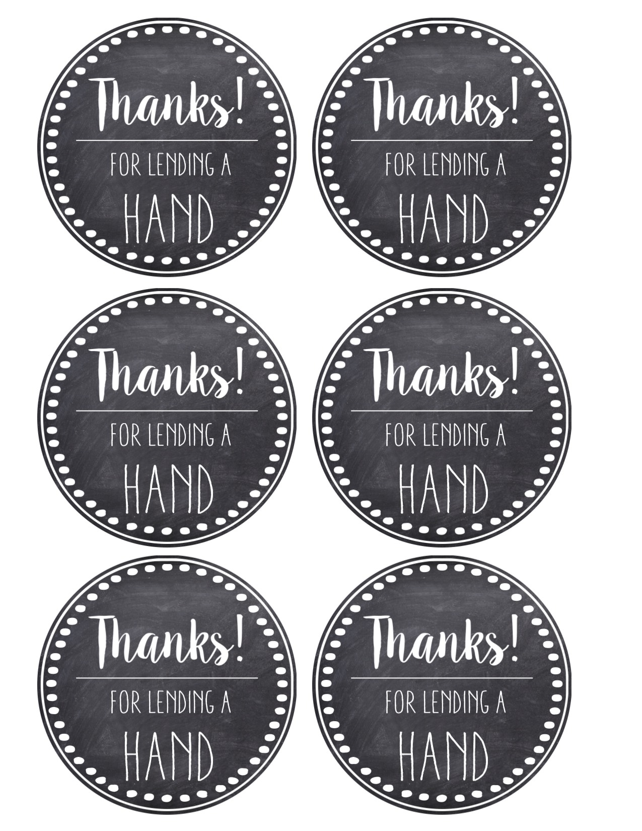 picture relating to Teacher Appreciation Printable Tags referred to as Thank Yourself Instructor Appreciation Tags Absolutely free Printable - Paper