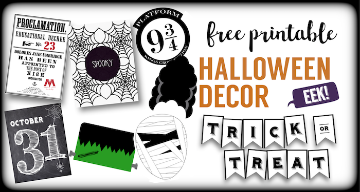It is a photo of Printable Halloween Banners for letter