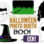 Free Printable Halloween Photo Booth