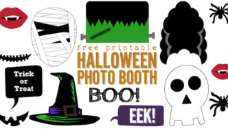 Free Printable Halloween Photo Booth