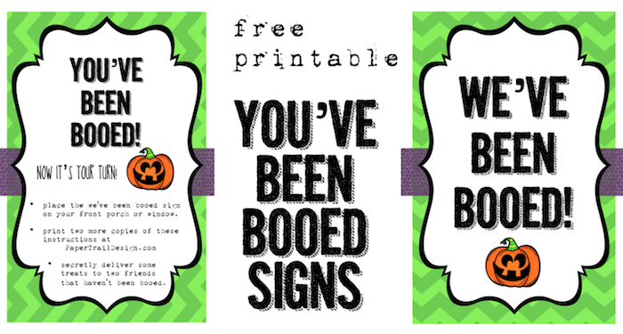 It is a photo of You've Been Booed Printable intended for christmas