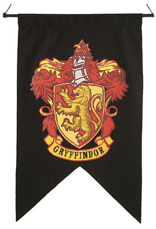 Gryffindor banner is one of the best Harry Pottter gifts.