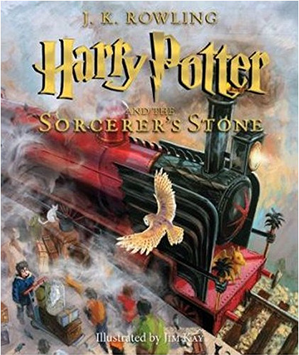 Harry Potter and the Sorcerer's Stone Illustrated Edition. This book is worth every penny! The illustrations are fantastic!