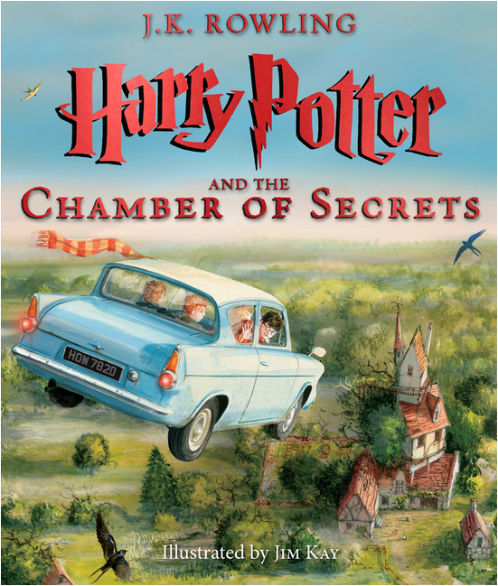 Harry Potter and the Chamber of Secrets Illustrated Edition. This book is worth every penny! The illustrations are fantastic!