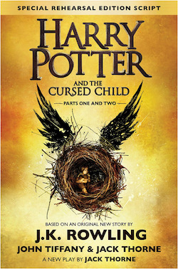 Harry Potter and the Cursed Child script book is one of the best Harry Potter gifts.