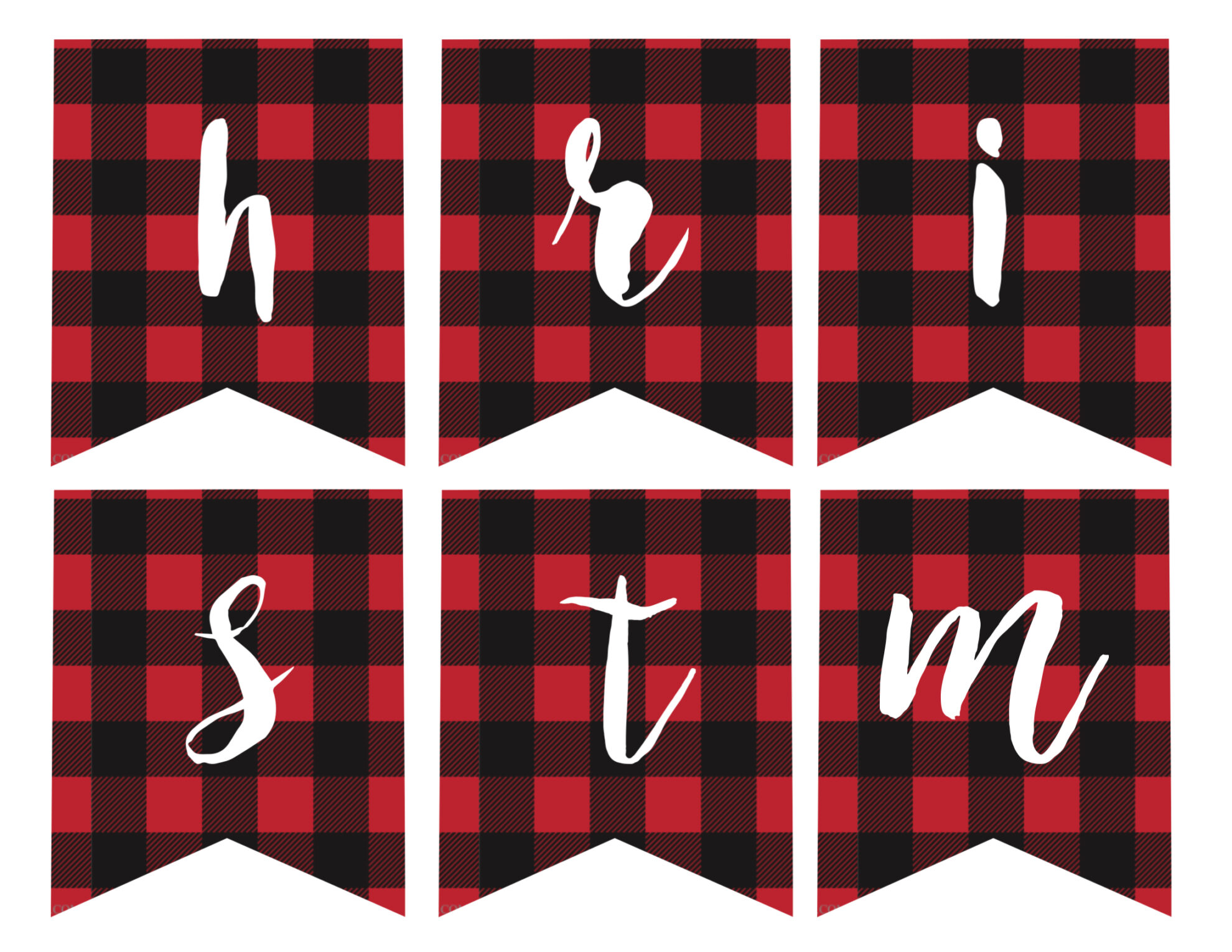 Free printable merry christmas banner paper trail design h m merry christmas banner solutioingenieria Choice Image