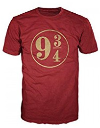 Harry Potter Platform 9 3/4 shirt makes one the best Harry Potter gifts!