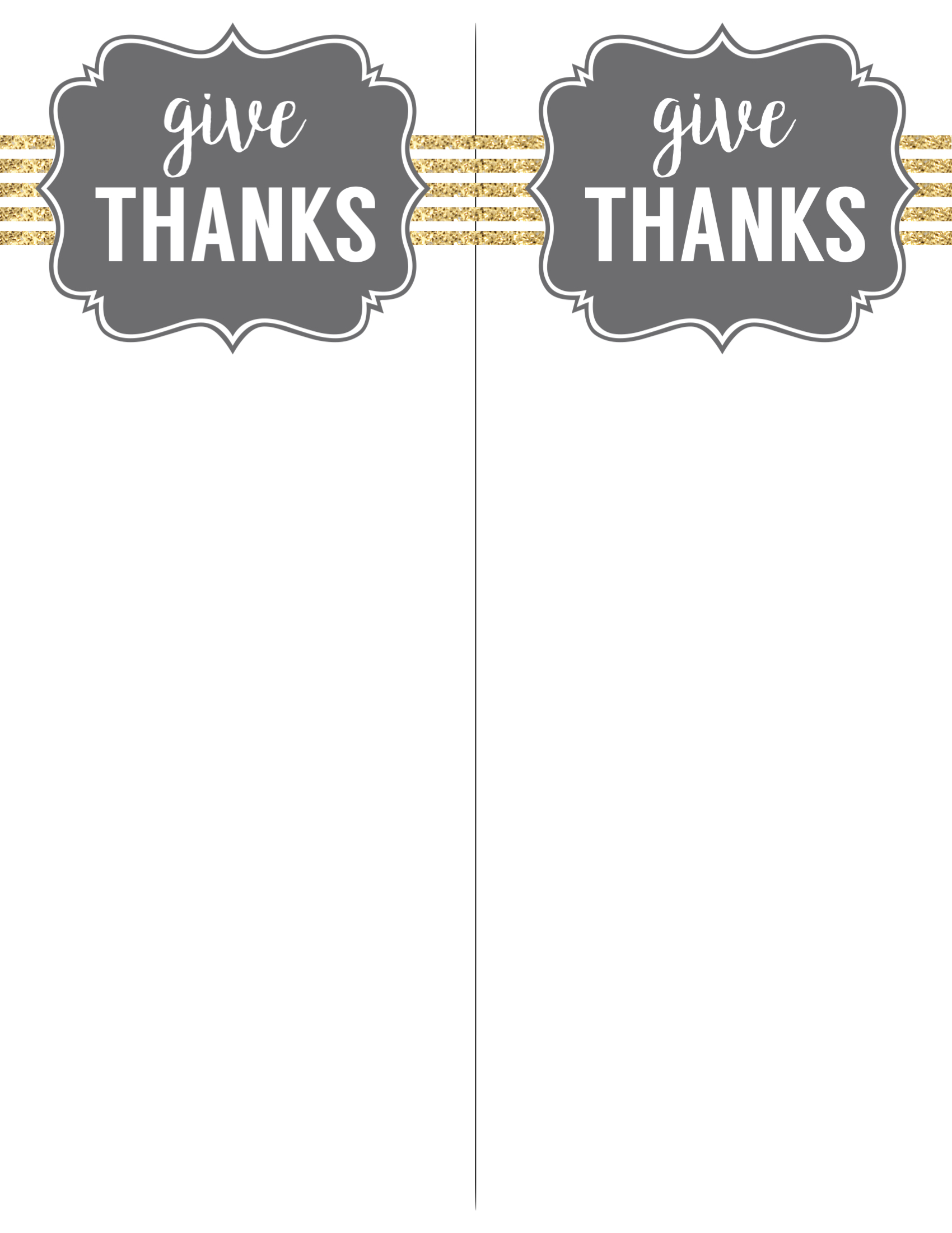 Click The Following Link To Print Thanksgiving Silverware Holder Free Printable