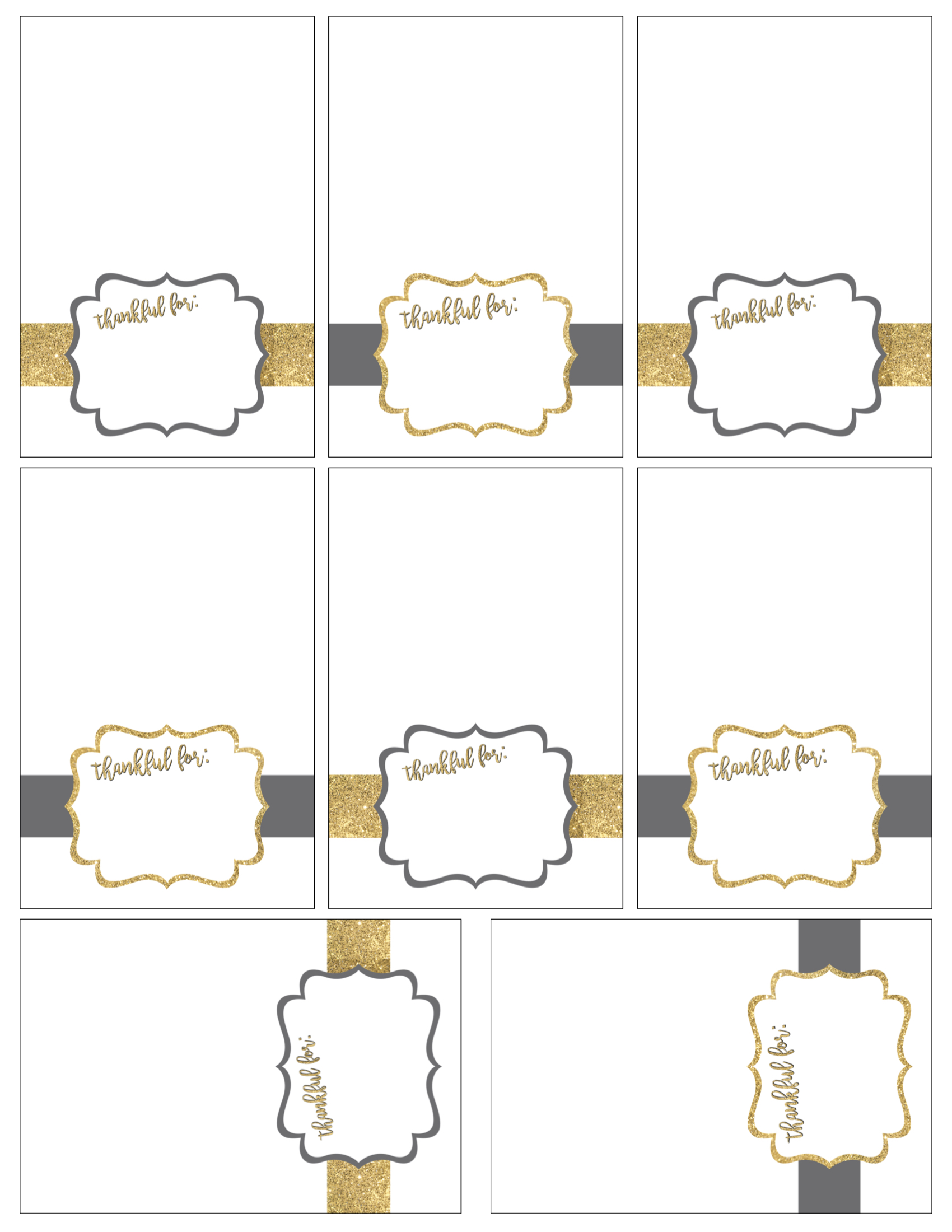 Free printable thanksgiving place cards paper trail design for Free place card template