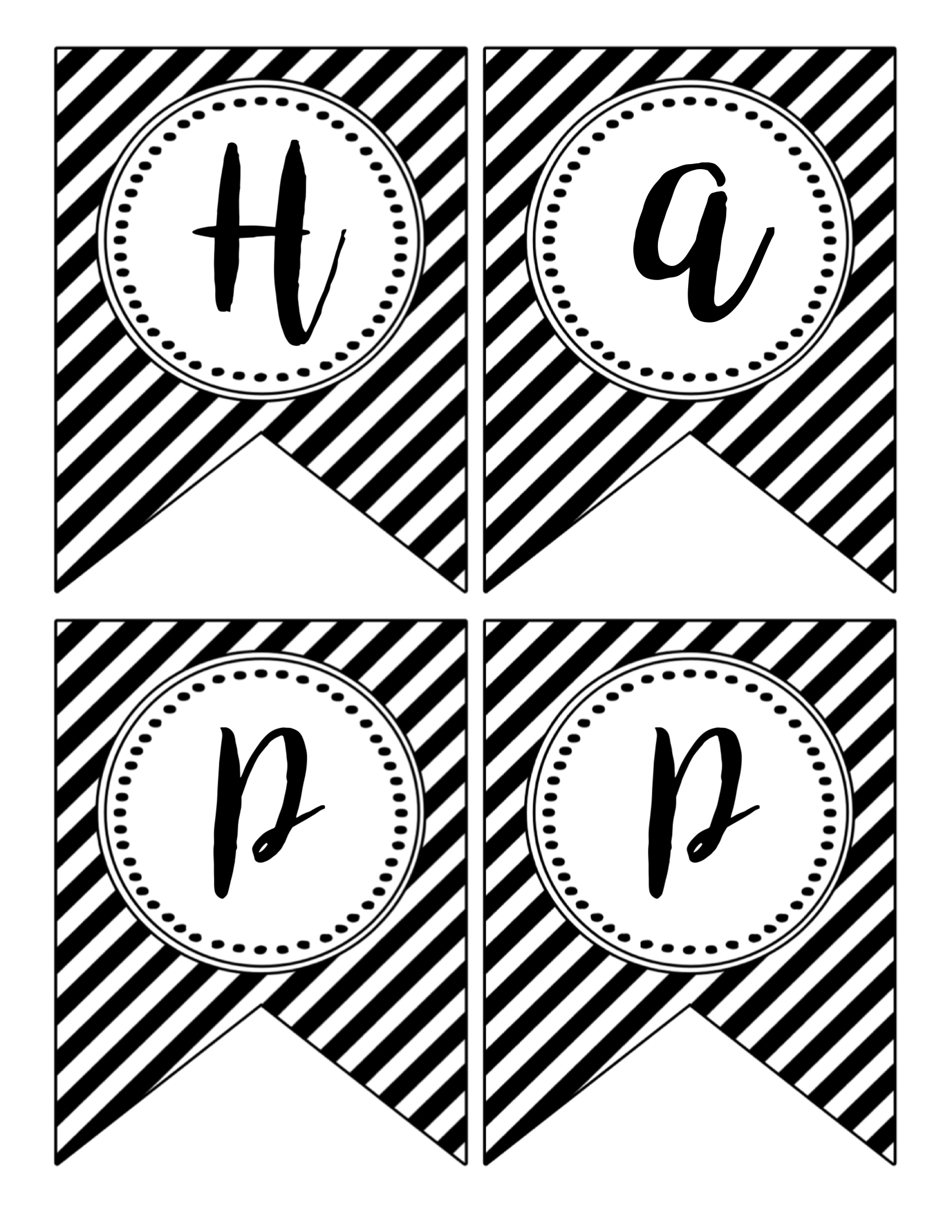 printable happy new year banner