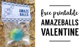 Bouncy Ball Valentine Printable {Amazeballs}