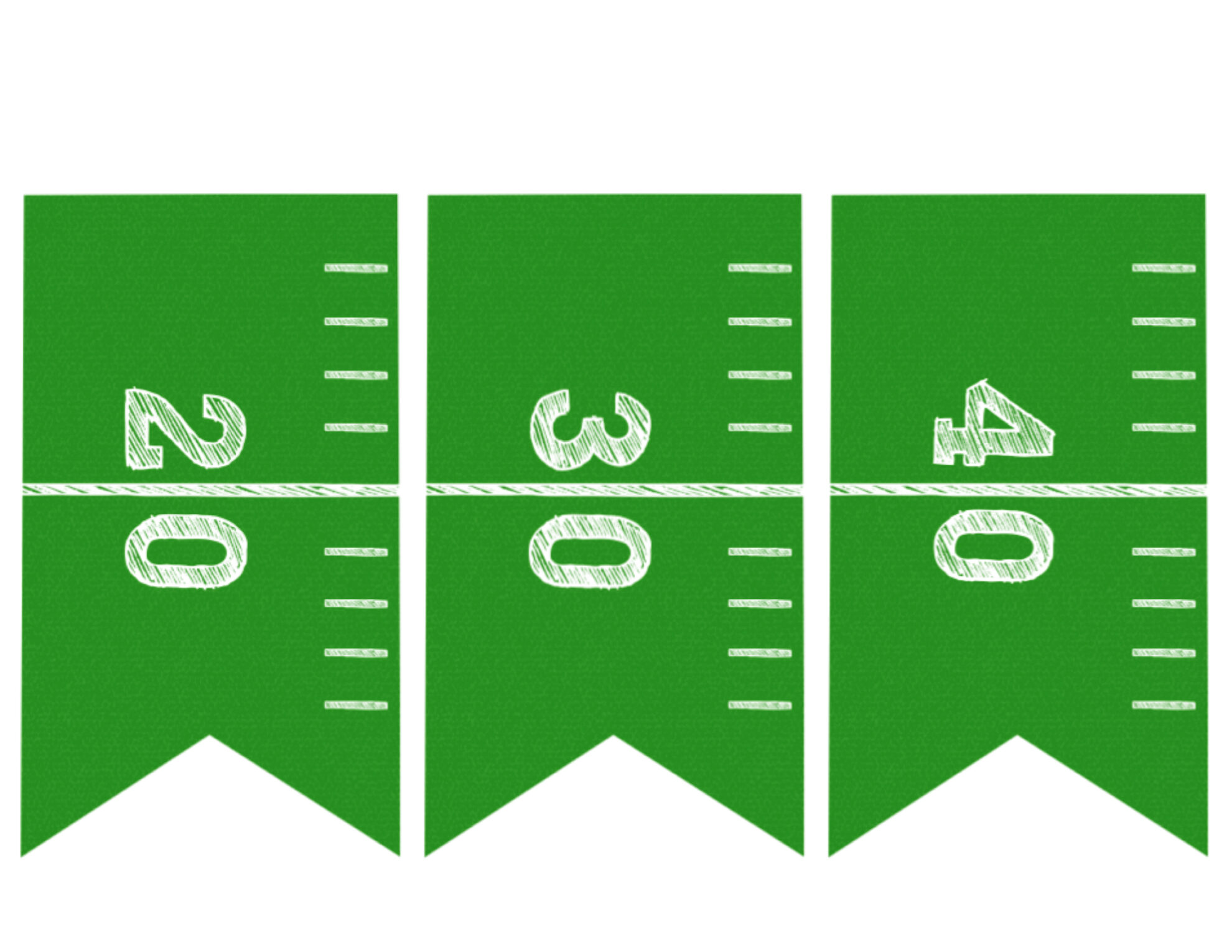 Football Banner Free Printable {Football Party} - Paper ...