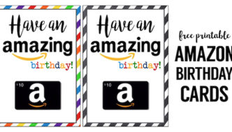 Amazon Birthday Cards Free Printable