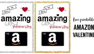 Amazon Valentine Card Printable
