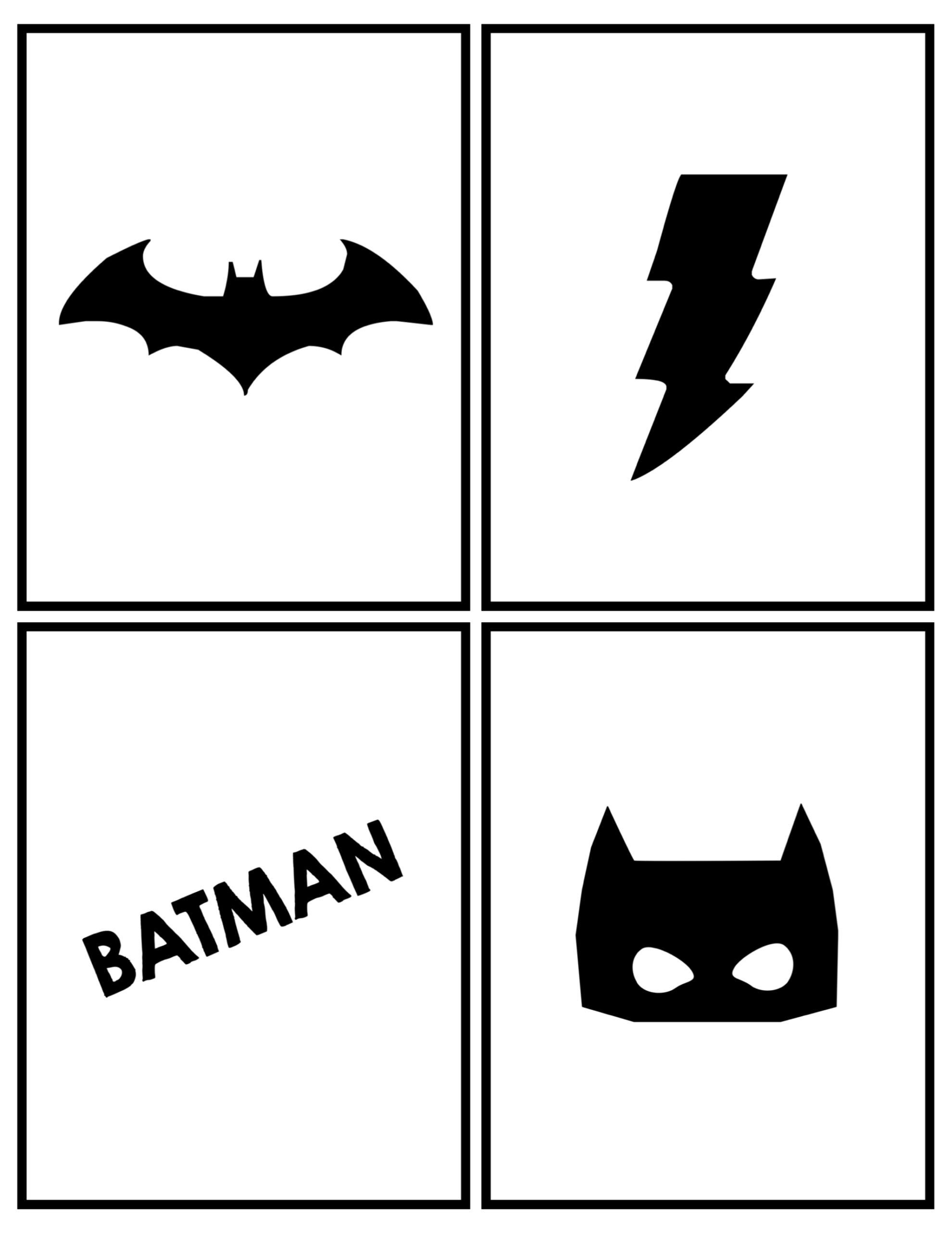 Batman Party Banner Free Printable - Paper Trail Design