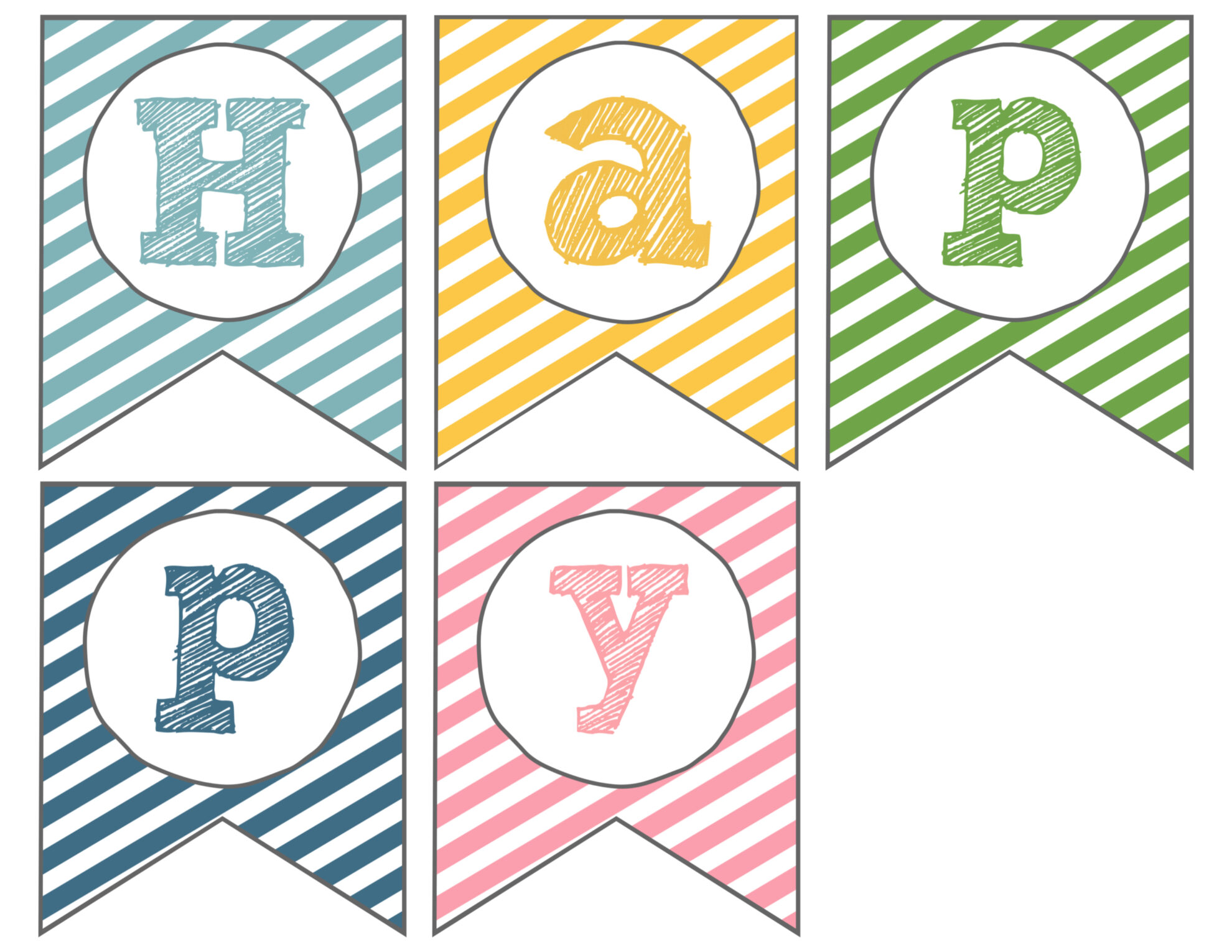 Lucrative image regarding happy easter banner printable