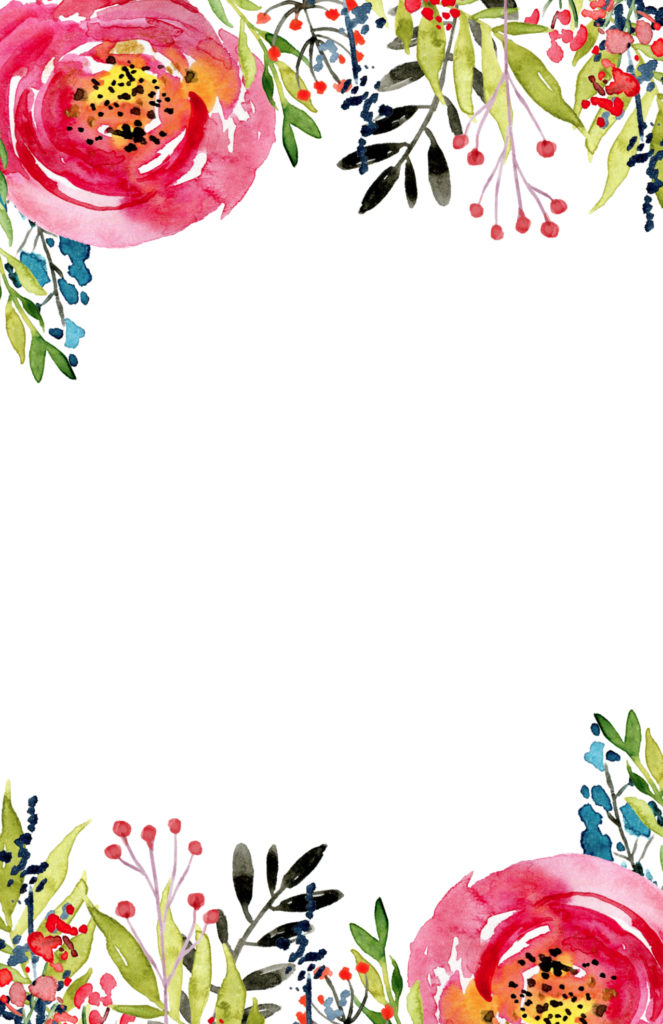 floral invitation template free printable paper trail design