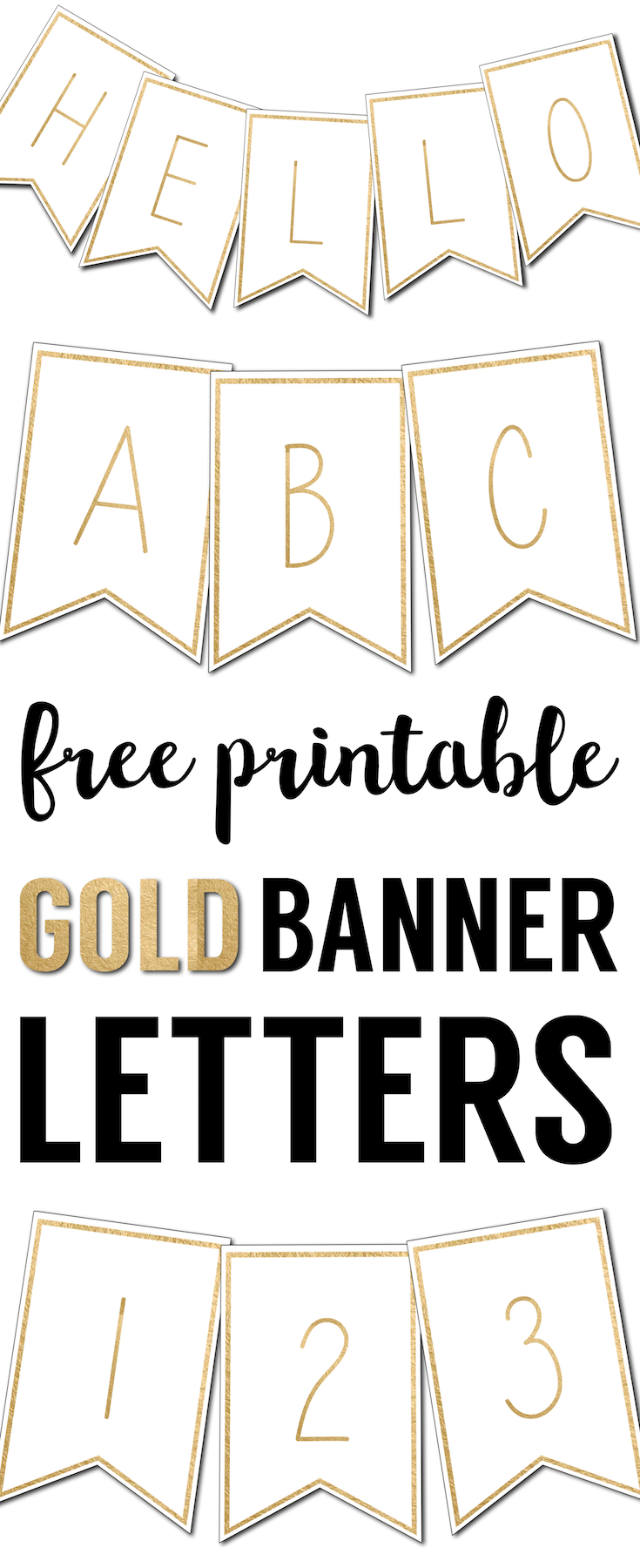 Juicy image inside printable banners