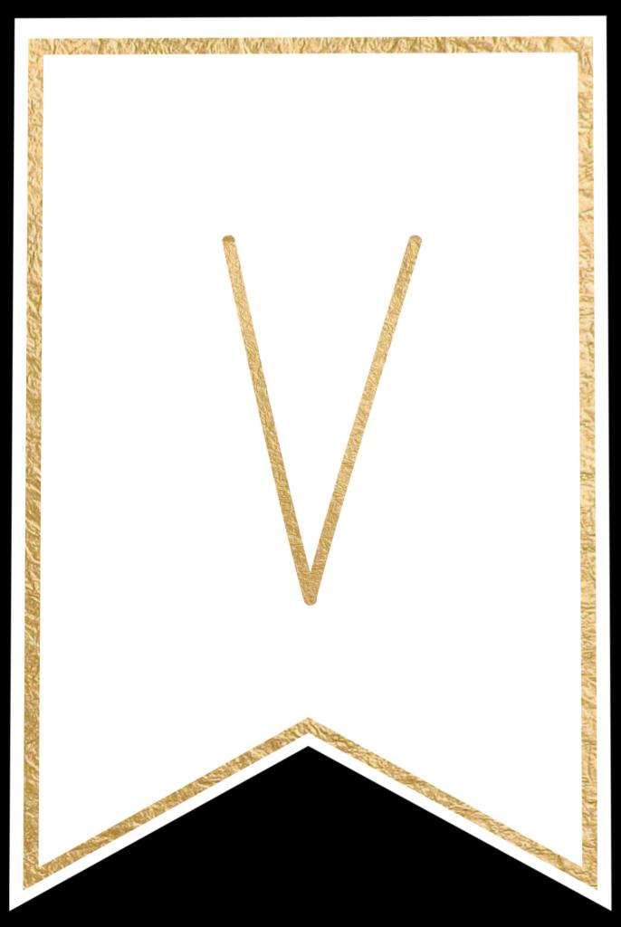 V-686x1024 V Cut Out Letter Templates on