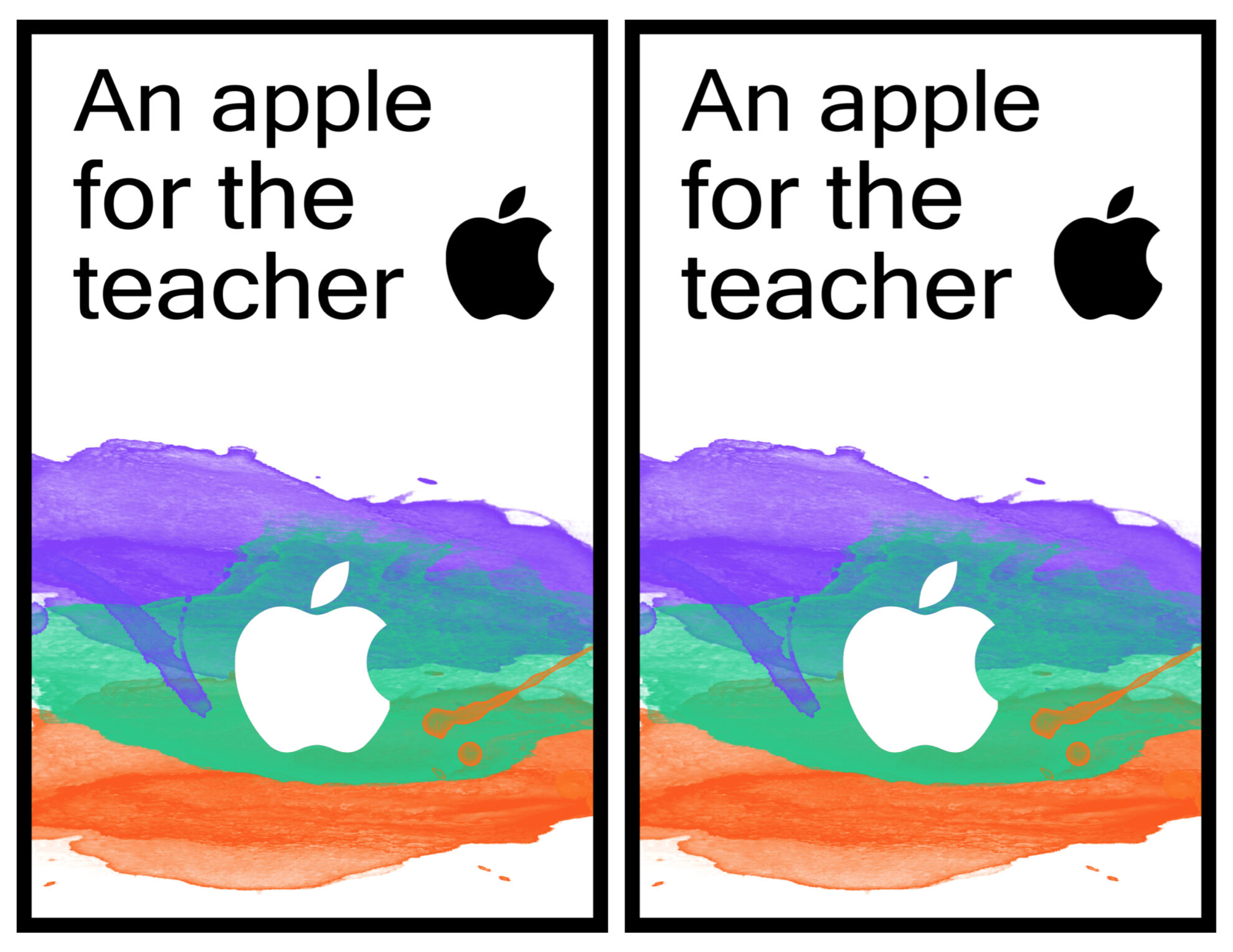 photograph about Printable Itunes Gift Card known as Apple Instructor Printable iTunes Present Card Holder - Paper