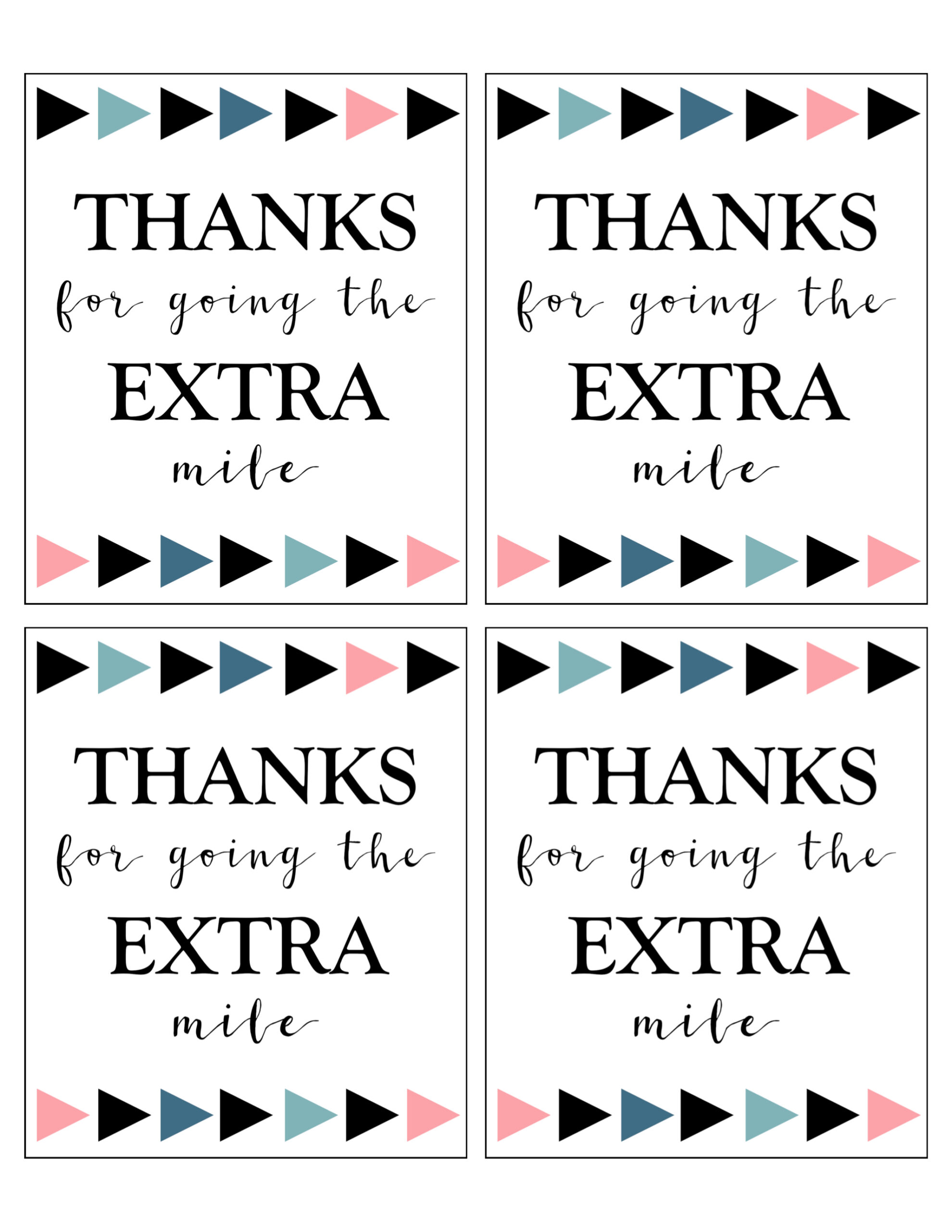 photo about Extra Gum Teacher Appreciation Printable named Additional Gum Thank On your own Printable - Paper Path Style and design