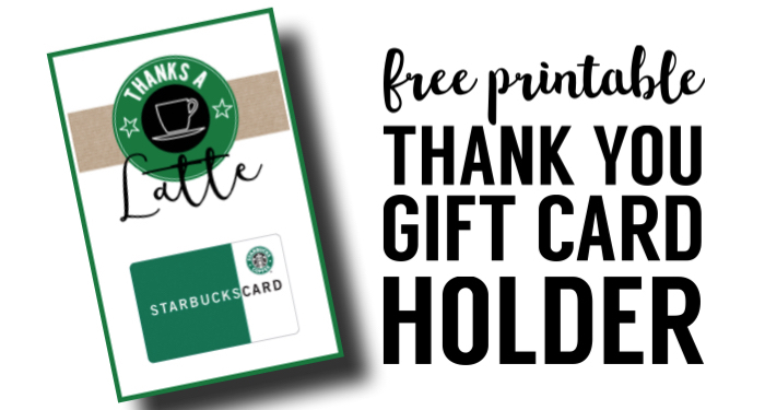 Starbucks Teacher Thank You Printable. These free thank you printables make for easy teacher appreciation gifts. Easy DIY Starbucks teacher appreciation card.