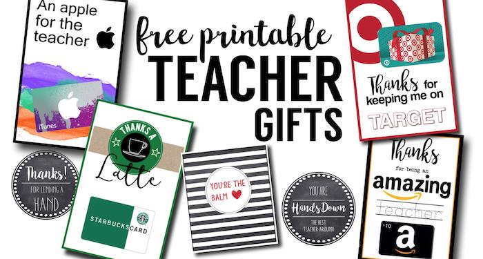 Free Printable Teacher Thank You Cards Ideas. DIY cheap and easy teacher appreciation gifts. Good teacher gift ideas, coach gift ideas, and thank you cards.