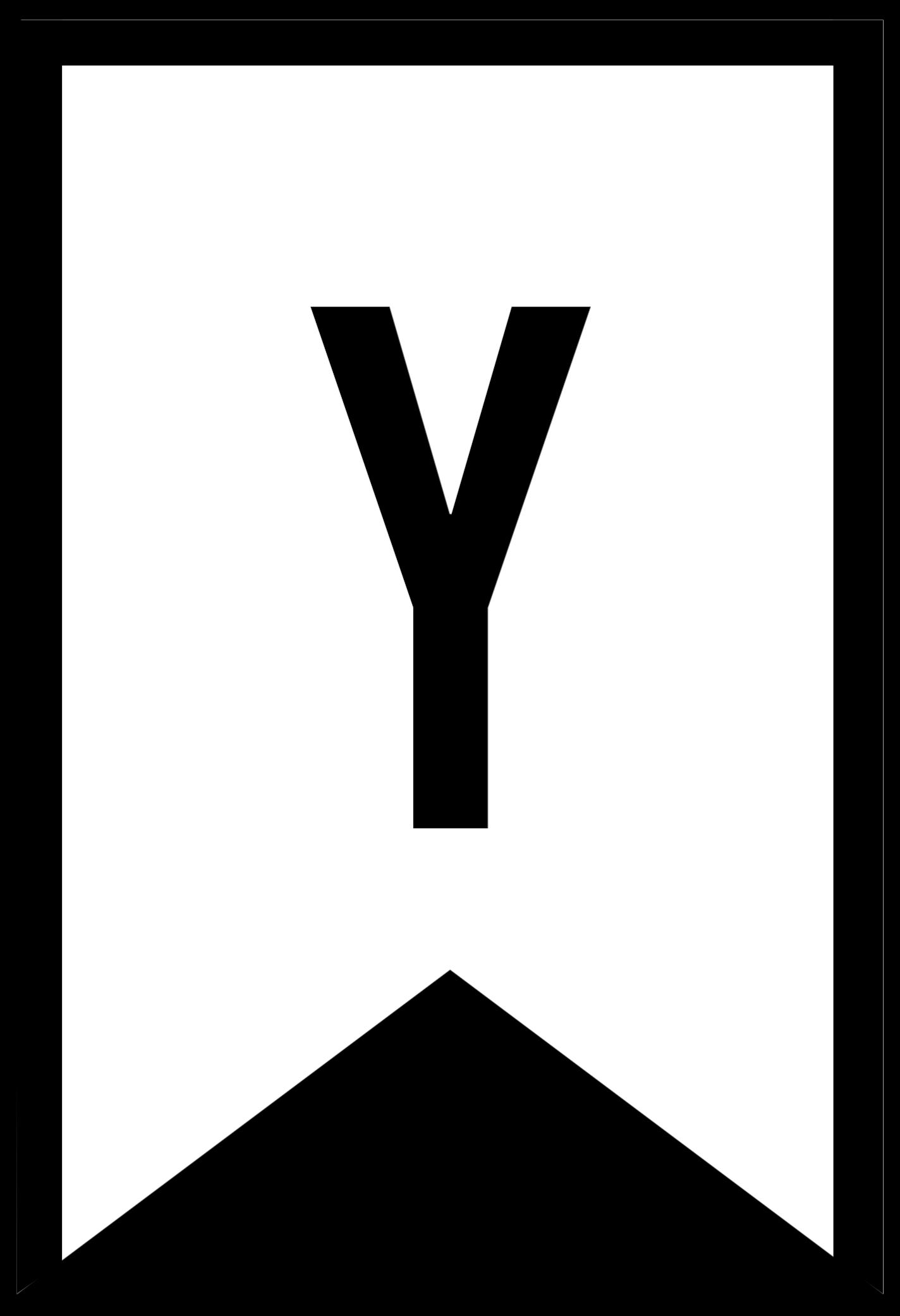 A Alphabet Letter Banner Templates Free ...