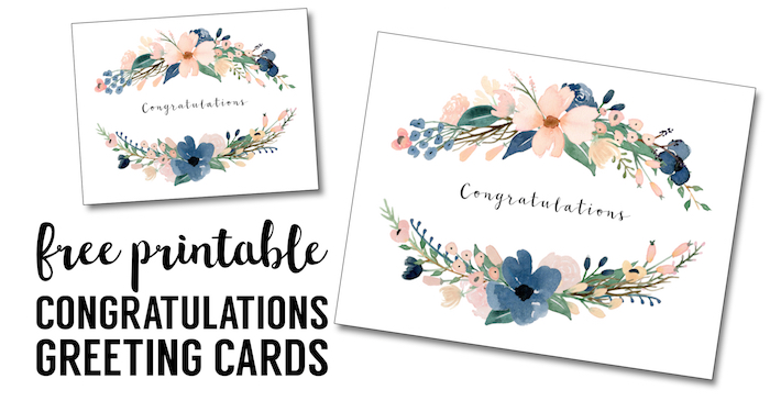 Wedding Gift Cards Online: Congratulations Card Printable {free Printable Greeting