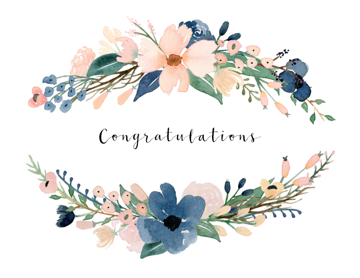 Congratulations card printable free printable greeting cards free printable congratulations card kristyandbryce Choice Image
