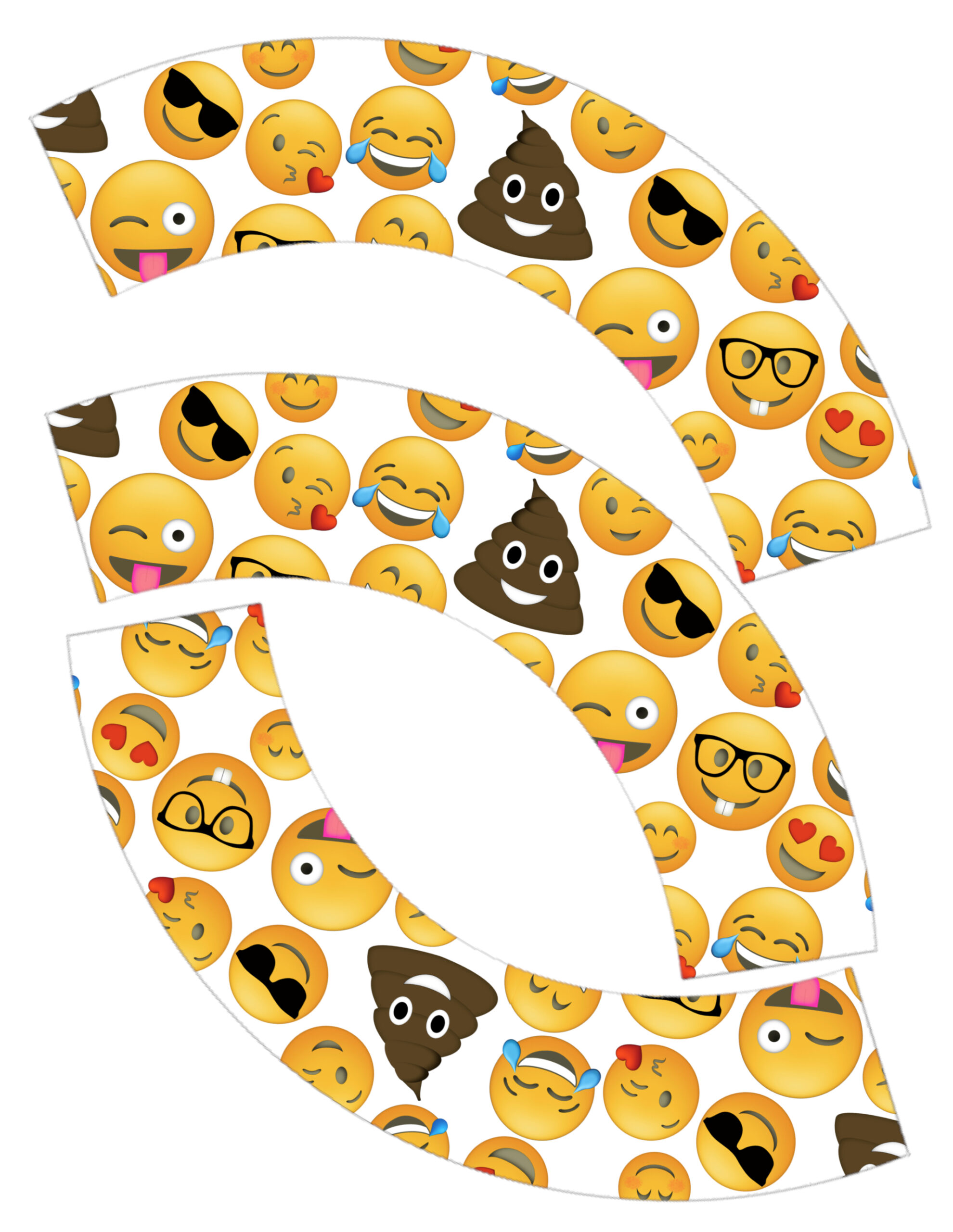 Emoji Cupcake Wrappers Free Printable Party Printables For An Birthday