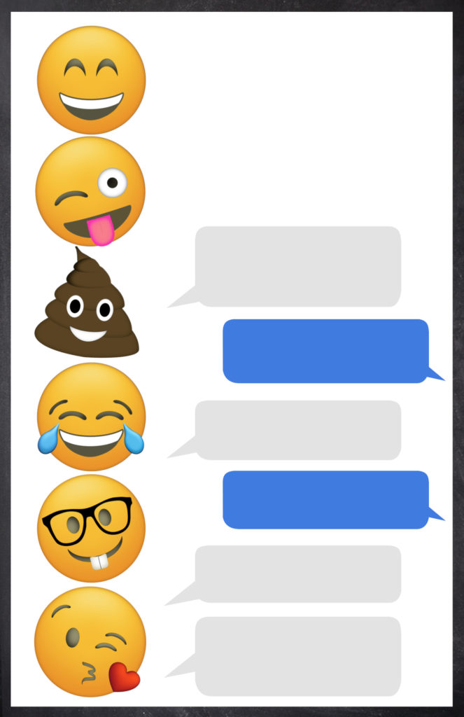 Halloween Emoji Text: Emoji Birthday Invitations Free Printable Template