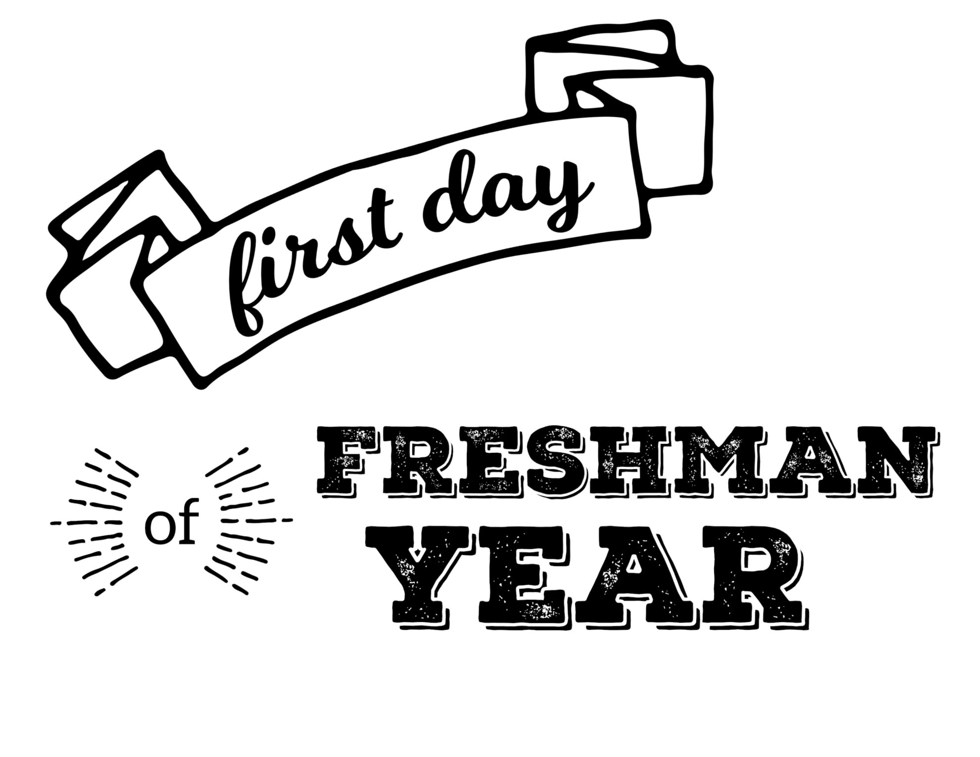 the first day of a freshman in college 24 mistakes every freshman makes in the first month of college by john boone 11:30 am pdt, september 29 (but if you walk in the first day and see a bunch of football players kanye is a college professor now.
