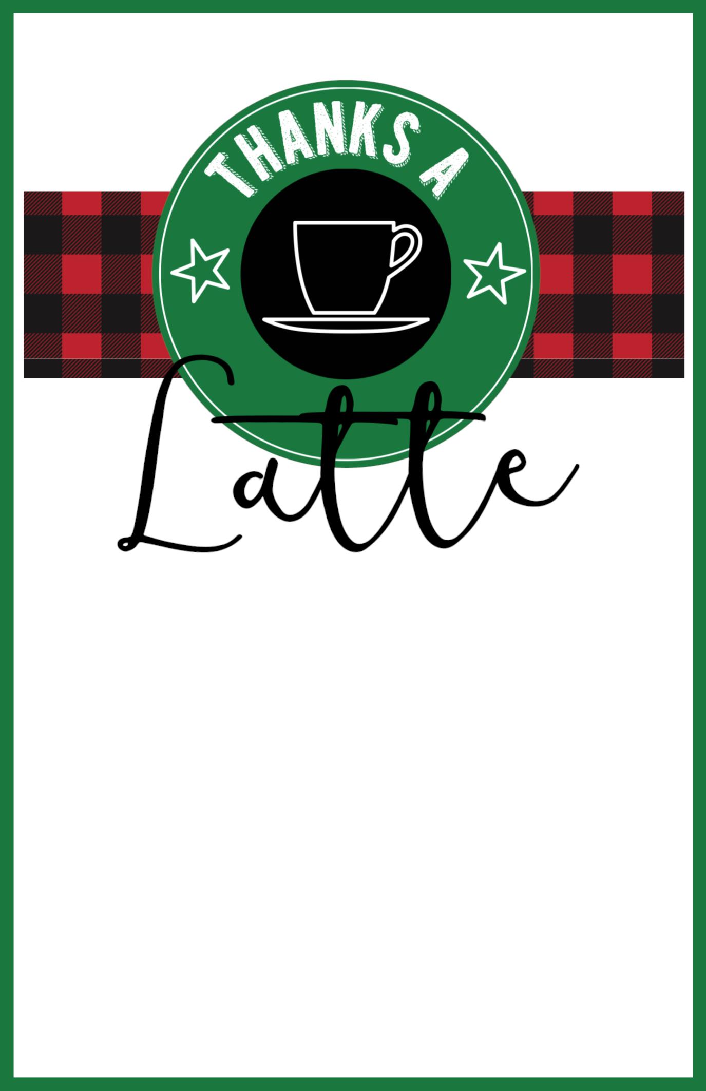 Easy Teacher Christmas Gift Idea {Starbucks Gift Card ...